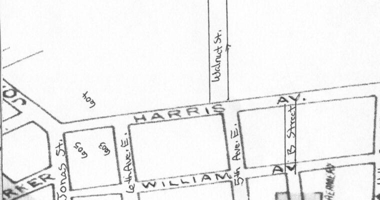 Harris Street Area Map