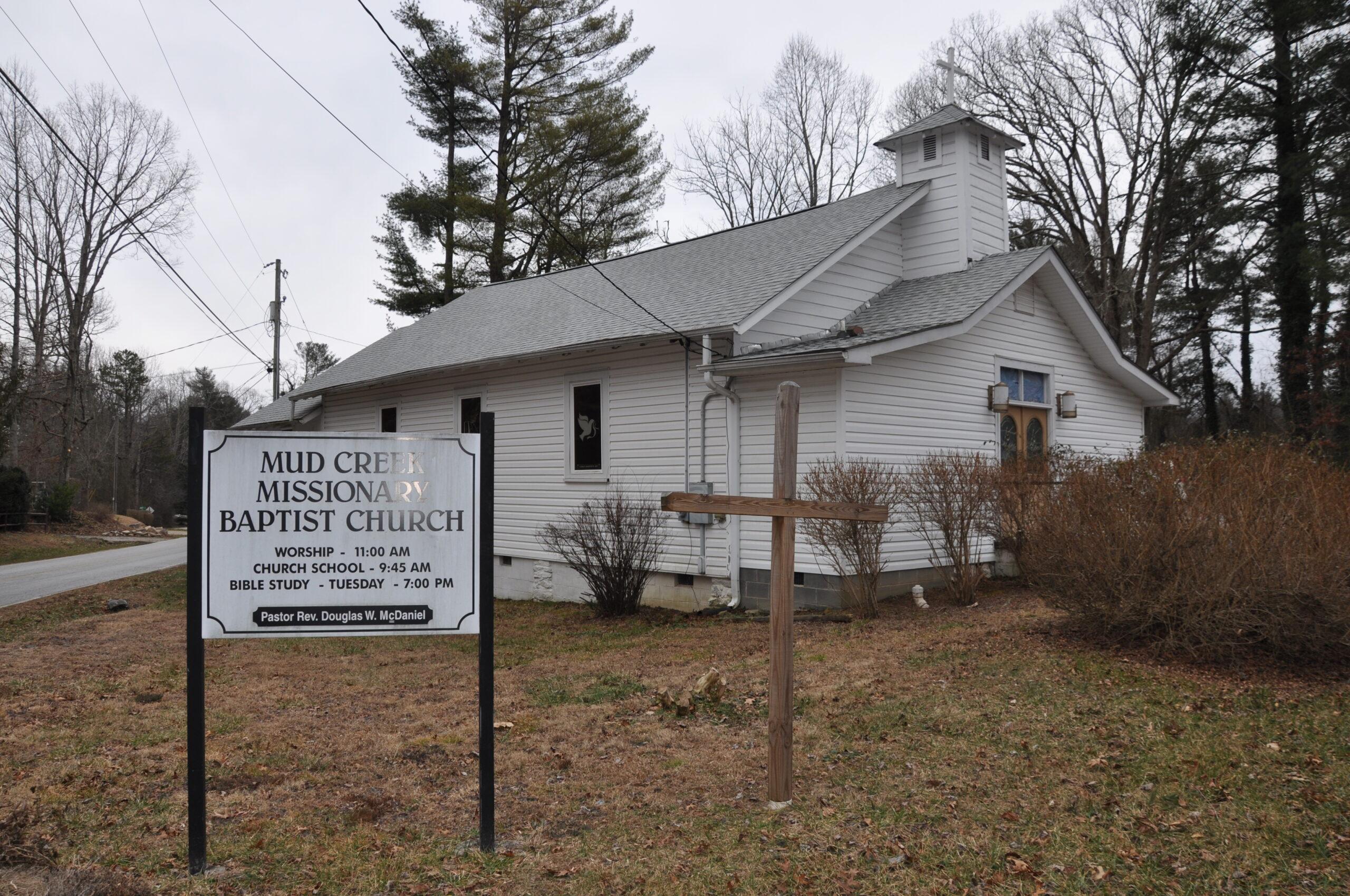 Mud Creek Missionary Baptist Church (East Flat Rock)