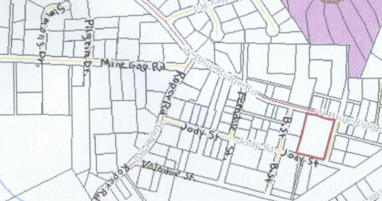 East Flat Rock Community Map